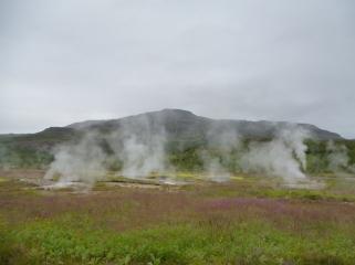 Geothermal land, Golden Circle, Iceland